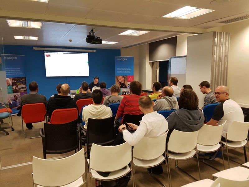 November audience for Michael Newton at .NET South East