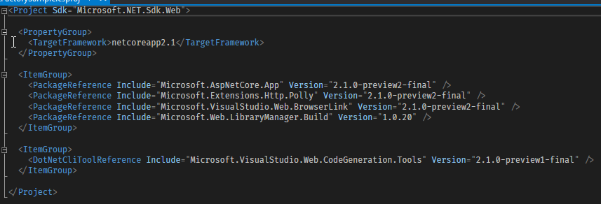 Library Manager (LibMan) in Visual Studio 2017 (15 7