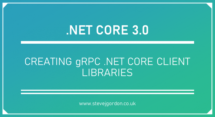 Creating gRPC .NET Core Client libraries Header