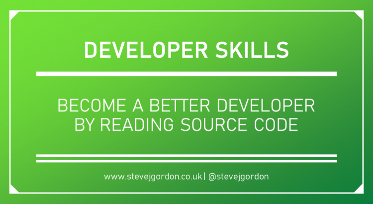 Become a better developer by reading source code - Header