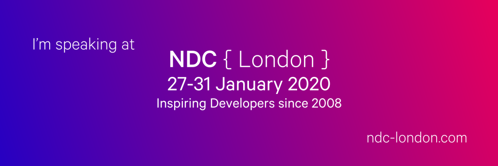 Speaking at NDC London
