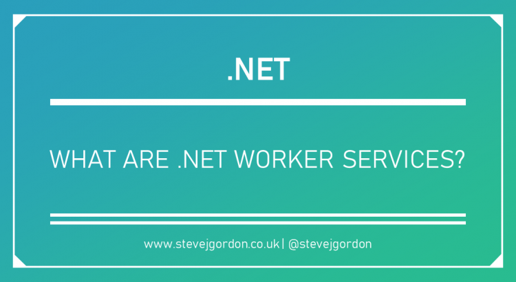 What Are .NET Worker Services Header