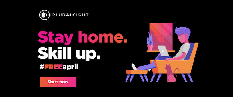 Pluralsight Free April Banner