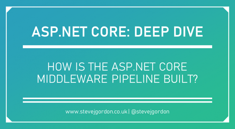 Deep Dive - How is ASP.NET Core Middleware Pipeline Built - Header Image